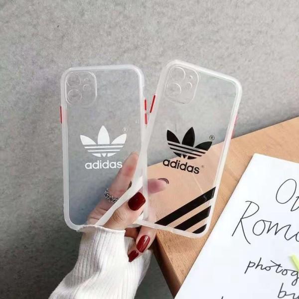 Adidas/アディダス 男女兼用人気ブランドiphone12/12pro maxケース 安いレディース アイフォiphone12/xs/11/8 plusケース おまけつきアイフォン12カバー レディース バッグ型 ブランド