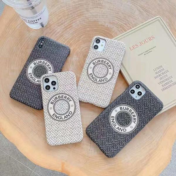 Burberry/バーバリー ペアお揃い アイフォン12mini/12 pro maxケースアイフォン iphone 11/xs/x/8/7ケース ファッション経典 メンズジャケット型 2020 iphone12ケース 高級 人気 ファッション