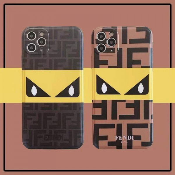 Fendi/フェンデイ iphone12/12mini/12pro/12promaxケース ビジネス ストラップ付き個性潮 iphone x/xr/xs/xs maxケース ファッションシンプル iphone11pro/8 plus/se2ケース ジャケットins風 かわいい