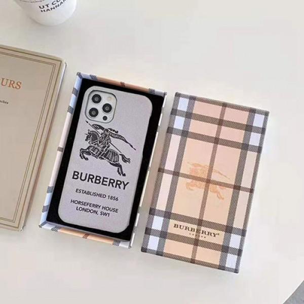 Burberry/バーバリー ファッション セレブ愛用 iphone12/12pro maxケース 激安アイフォンiphone xs/x/8/7 plusケース ファッション経典 メンズアイフォン12カバー レディース バッグ型 ブランドモノグラム iphone12mini/11pro maxケース ブランド