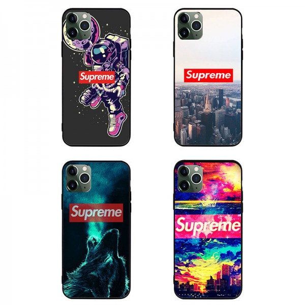 Supreme/シュプリーム ブランド アイフォンiphone12/12mini/12 pro maxース 全機種対応 ファッション 経典 ins風 Galaxy note20/s20+ xperia5iiケース かわいい iphone xr/xs max/8/7 plus/11proケース モノグラム huawei aquosケース メンズ レディース