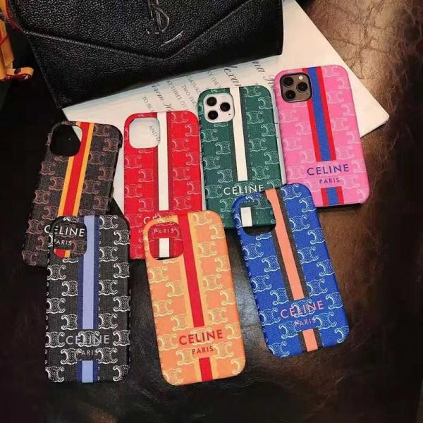Celine/セリーヌ ビジネス ストラップ付きメンズ iphone12/12pro maxケース 安いレディース アイフォiphone12/xs/11/8 plusケース おまけつきアイフォン12カバー レディース バッグ型 ブランド
