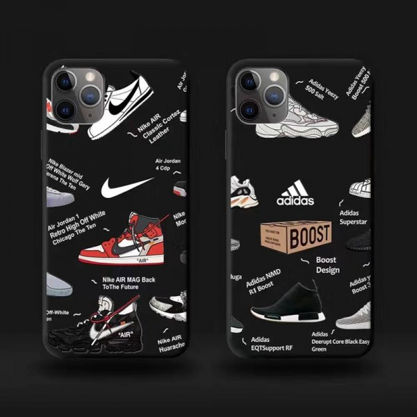 Adidas ビジネス iphone12mini/12pro/12pro max/11 pro maxケース シンプル 経典 スポーツ風 Nike アイフォン12/x/xs/xr/11/8/7ケース アディダス air jordan ジャケット型 ジョーダン 大人気 ナイキ ファッション メンズ レディース