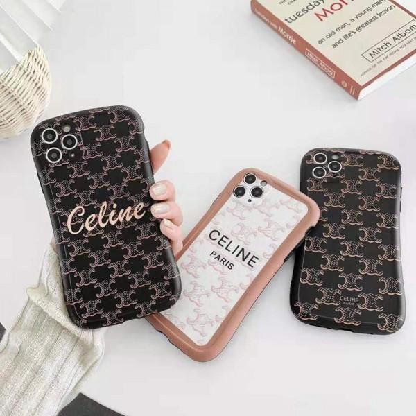 Celine iphone12pro/12pro maxケース ブランド セリーヌ アイフォン12/12mini/xs/11/8 plusケース おまけつき ジャケット型 2020 高級 人気 LINE注文 レディース