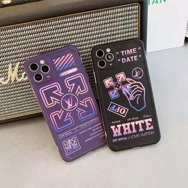 LV / Off-White iphone12/12mini/12pro/12pro maxケース ファッション セレブ愛用激安個性潮 iphone x/xr/xs/xs max/8plus/11proケース ファッションアイフォン12カバー レディース バッグ型 ブランド