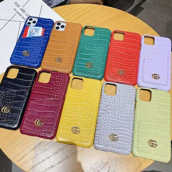 Gucci ペアお揃い 蛇紋 ブランド iphone12/12mini/12pro/12 pro maxケース グッチ セレブ愛用 レザー バッグ型 カード入れ 激安 アイフォン12/xr/xs max/8plus/11proカバー ファッション レディース