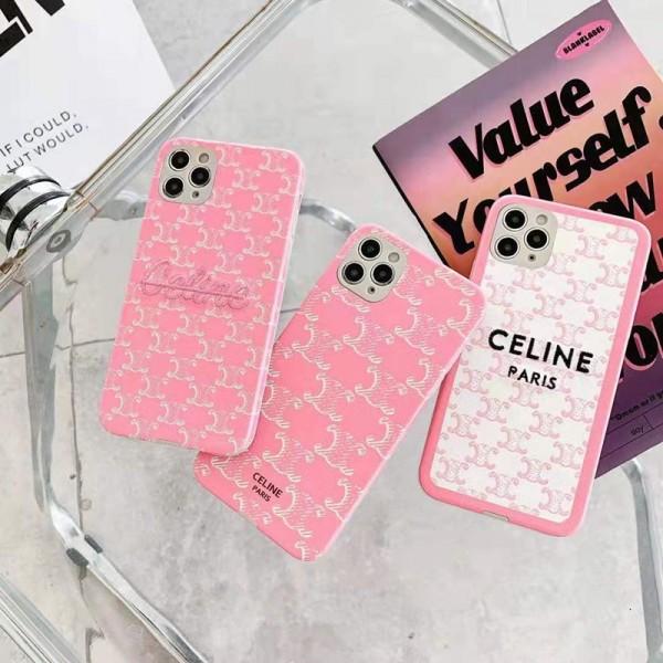 Celine/セリーヌ ins風 iphone12/12mini/12pro/12promaxケース 安いレディース アイフォiphone12/xs/11/8 plusケース おまけつきiphone x/8/7 plusケース大人気