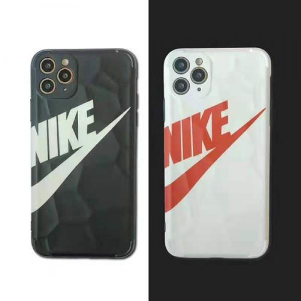 ナイキ ペアお揃い アイフォン12mini/12pro/12 pro maxケースビジネス ストラップ付きファッション セレブ愛用iphone 11/xs/x/8/7ケース 激安ジャケット型 2020 iphone12ケース 高級 人気