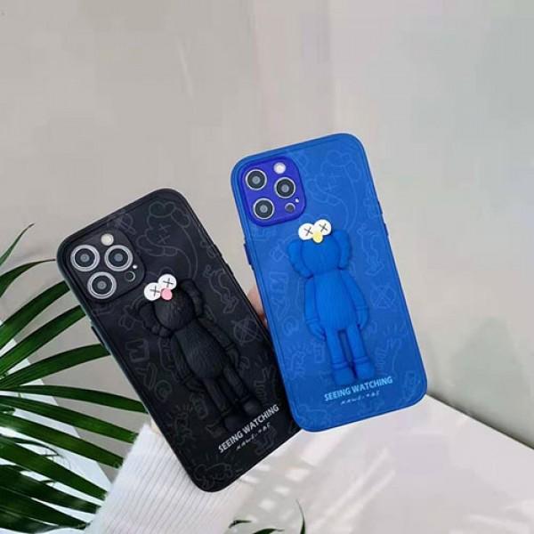 カウズ ブランド iphone12/12pro maxケースIphone xr/11/11pro maxケース かわいいシンプルジャケットメンズ iphone 7/8/se2ケース 安いiphone xr/xs max/11proケースブランド