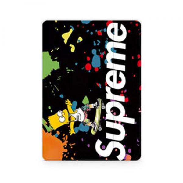 supreme ipad 8/7 世代 pro 12.9/11inch 2020ケース ブランド メンズ レディース アイパッド 6/5/4/3/2ケース 手帳型iPad Proケース 9.7インチ 2018/2017新型 iPad pro 9.7 11 12.9インチケース ブランド  2020/2018/2017  ブランドパロディ・レプリカ日本未入荷