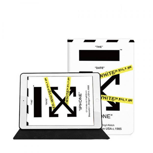 Off-White/オーフホワイト アイパッドエア1/2/3/4ケース 横開きモノグラム ダミエ アイパッド 6/5/4/3/2ケース 手帳型ブラント iPad8 Air4 10.5インチケース  コピーiPad ミニ5/4/3/2/1手帳型カバー ブランドパロディ・レプリカ日本未入荷