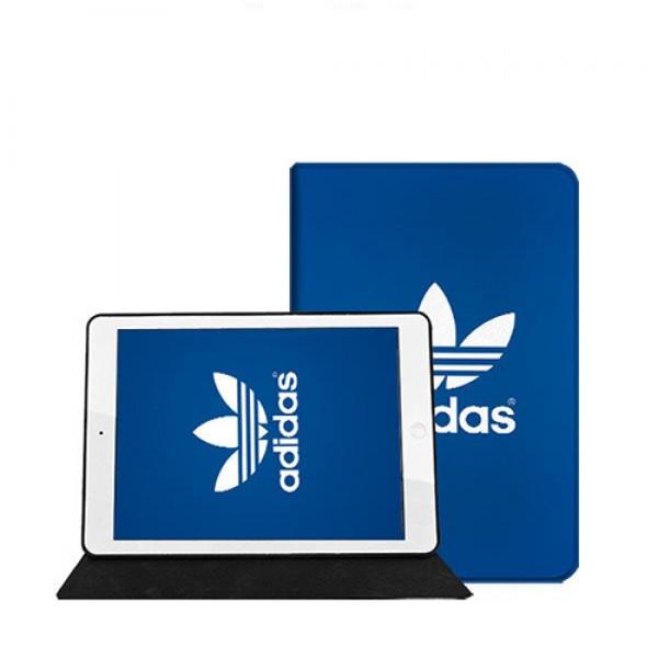 Adidas/アディダス ipad8 air4 pro 9.7/11inch 2020ケース ブランド メンズ レディースアイパッドエア1/2/3ケース 横開きiPad Proケース 9.7インチ 2018/2017新型 iPad pro 9.7 11 12.9インチケース ブランド  2020/2018/2017  ブランドパロディ・レプリカ
