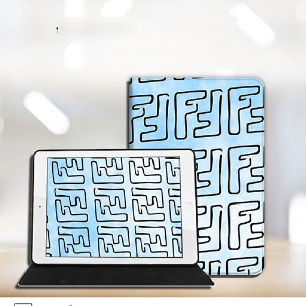 Fendi/フェンデイ ipad8 air4 pro 9.7/11inch 2020ケース ブランド メンズ レディースアイパッドエア1/2/3ケース 横開きiPad ミニ5/4/3/2/1手帳型カバー ブランドパロディ・レプリカ日本未入荷iPad Proケース 9.7インチ 2018/2017