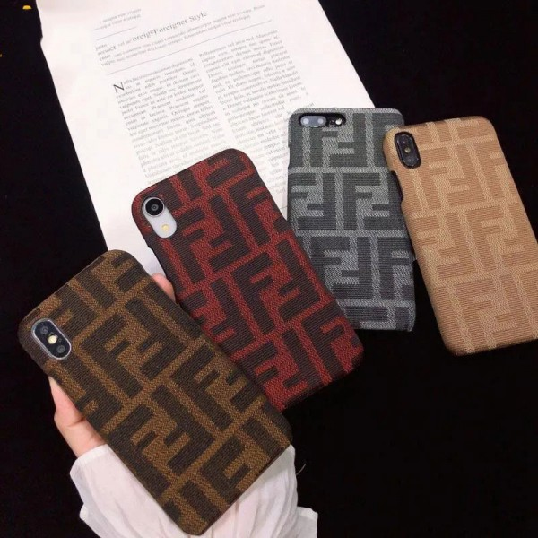 Fendi ビジネス ストラップ付きシンプル iphone12/12mini/12pro/12promaxース ジャケットiphone x/8/7 plus/se2/11proケース大人気iphone 12ケース ファッション