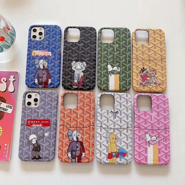 Goyard/ゴヤール ブランド iphone12 mini/12 pro/12pro maxケース カード入れメンズ 安いiphone xr/xs max/11proケースブランドモノグラム iphone8plus/se2020/12miniケース ブランド