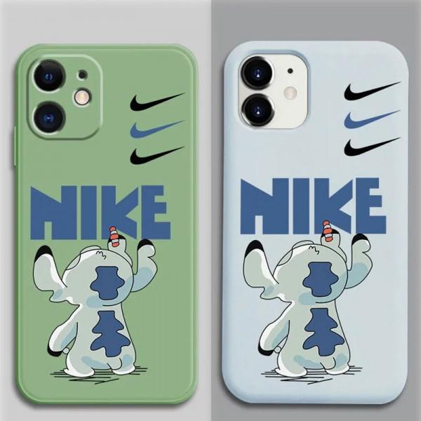 Nike/イキ ブランド iphone12/12pro maxケース かわいいペアお揃い アイフォン2 iphone 11/xs/x/8/7ケースシンプル 2 ジャケットレディース アイフォiphone12/xs/11/8 plusケース おまけつき