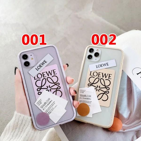 LOEWE/ロエベ ファッション セレブ愛用 iphone12/12mini/12pro/12pro maxケース 激安iphone 11/x/8/7スマホケース ブランド LINEで簡単にご注文可ins風 かわいいメンズ iphone11/11pro maxケース 安い