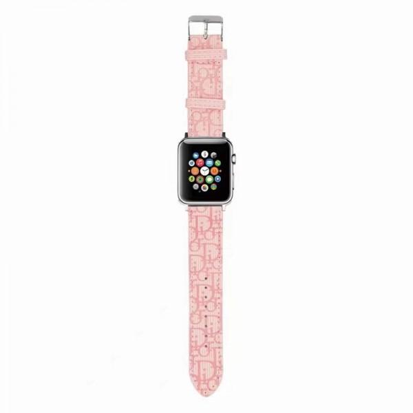 Dior/ディオール ブランドアップルウォッチバンドアップルウォッチ6/se 2020 バンド ブランド レディースバンドビジネスマン用高級Apple Watch 6/5/4/3ブランドバンド本革 38mm/40mm/42mm/44mm