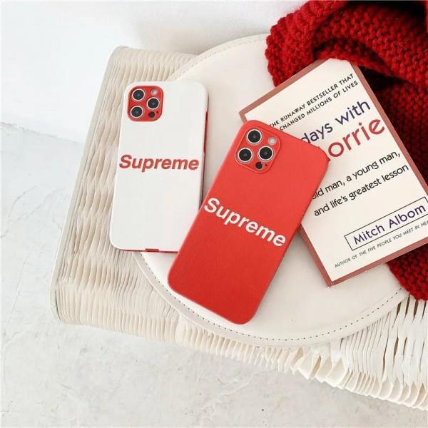 Supreme/シュプリーム iphone12mini/12promaxケース ビジネス ストラップ付きiphone xr/xs max/8plus/11proケースブランドモノグラム iphone12/11pro maxケース ブランド