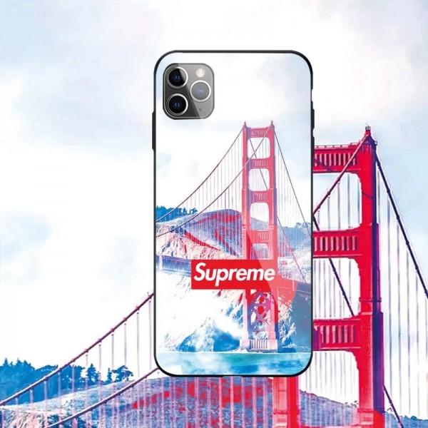 LV / Supreme iphone12mini/12pro/12promaxケース ビジネス ストラップ付きメンズ iphone 11/x/8/7ケース 安いジャケット型 2020 iphone12ケース 高級 人気