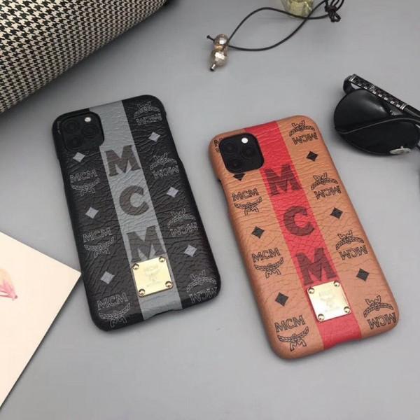 MCM/エムシーエム iphone12/12mini/12pro/12promaxスマホケース ブランド LINEで簡単にご注文可シンプル iphone 11/x/8/7ケース ジャケットiphone x/8/7 plusケース大人気 ファッション