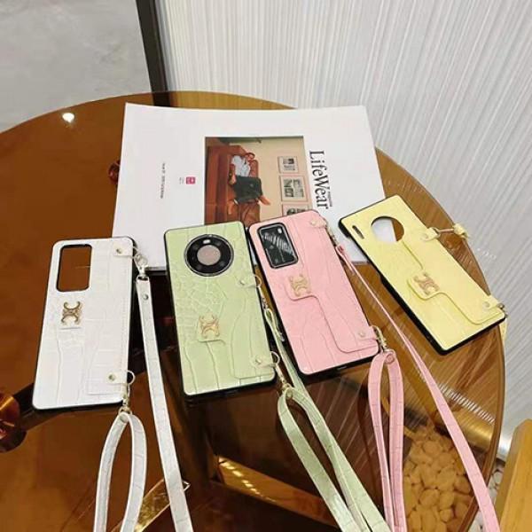 Celine/セリーヌ ブランド 激安 モノグラム iphone 13/12/12 pro/12 mini/12 pro maxケース 革製 ストラップ付き 落下保護 アイフォン11/11 pro/11 pro max/se2ケース ファッション バック型 IPHONE X/XS/XR/8/7カバー 韓国風 HUAWEI mate30 マホケース 芸能人愛用
