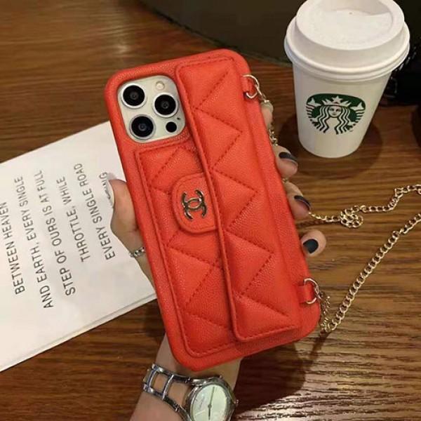 CHANELブランドIphone13/12/12pro/12promax/11ケース封筒型ストラップ付きシンプル ジャケット芸能人愛用革型 Iphone Xr/Xs Max/11proケースシャネルアップル安い8/8plus/Se2020ケースブランド贅沢風