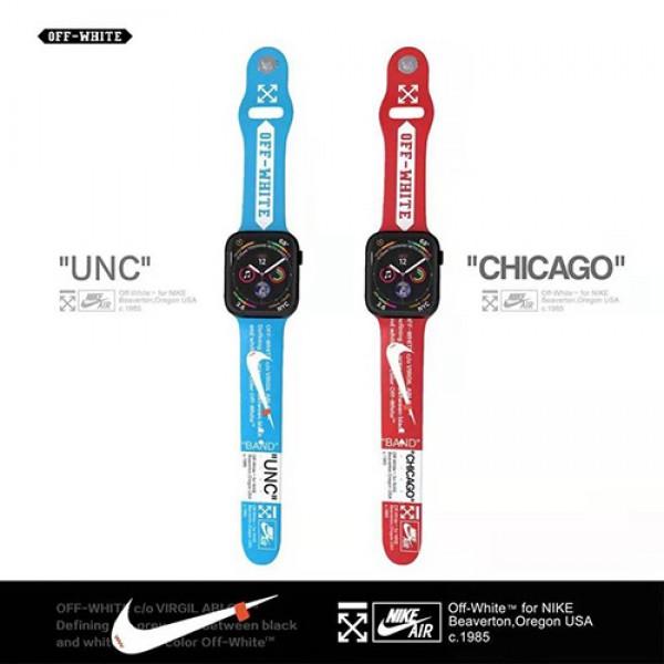 Nikeコラボ Apple Watch 6/5/4/3ベルト革型スポーツ風 交換用アップルウォッチ6/Se 2020 バンド ブランド レディース男女通用ナイキ高級Apple Watch 6/5/4/3ブランドバンド