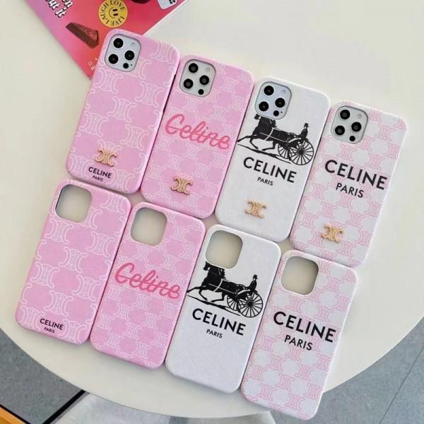 celine iphone 13 pro maxケースセリーヌCeline iphone13/13 mini/12 pro max/13 mini/xr/xs max ケース アイフォン 13/12Pro /11pro/xs max/8 plusケース 定番