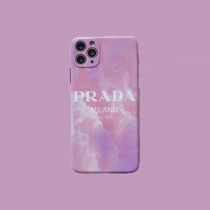 Prada ハイブランド 交換用ケース iphone 12 miniスマホケース
