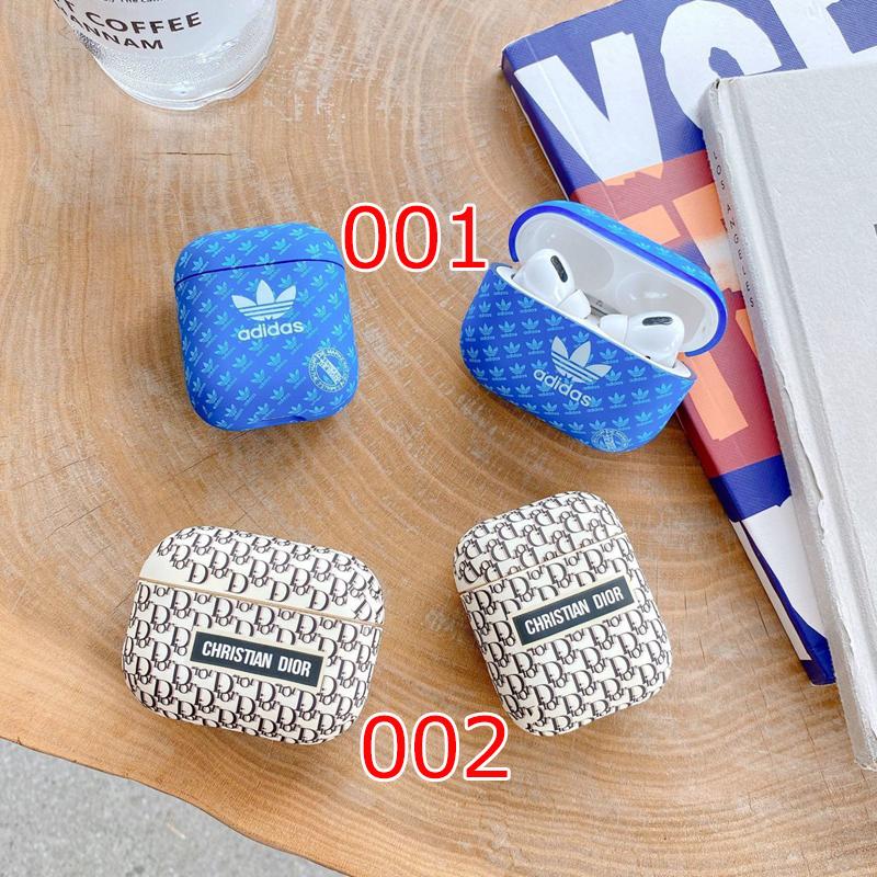 Adidas Dior 保護 防塵Air Pods1/2/3ケース