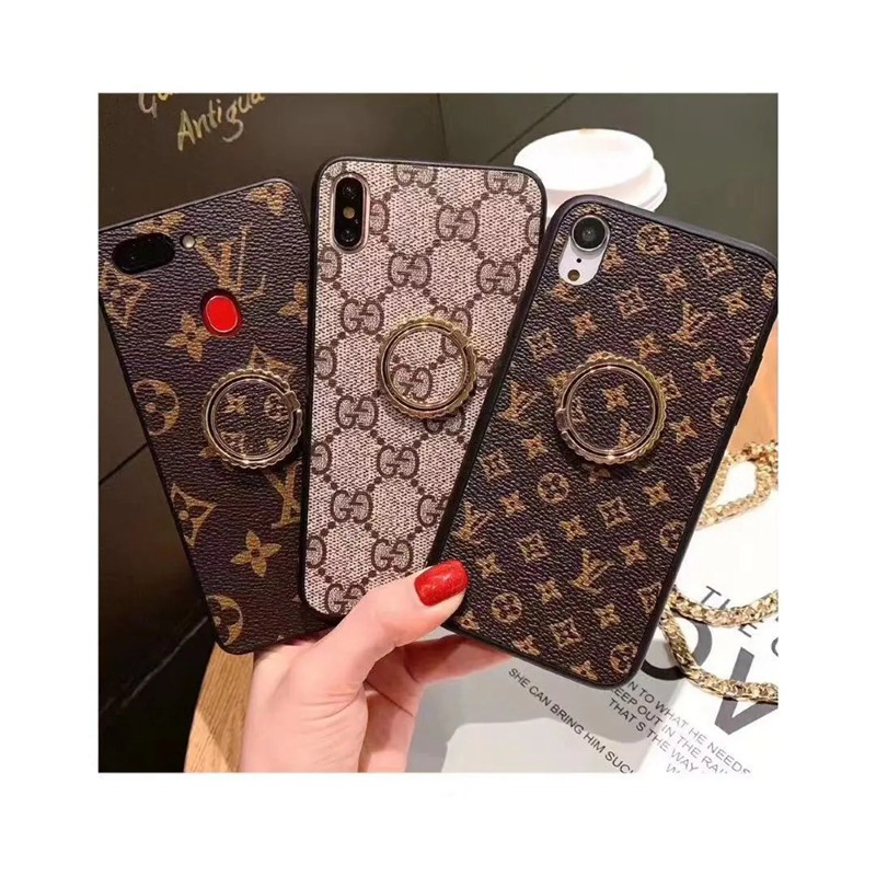 LV / GUCCI Galaxy S21/S20 Ultra/S21+ケース リングつき