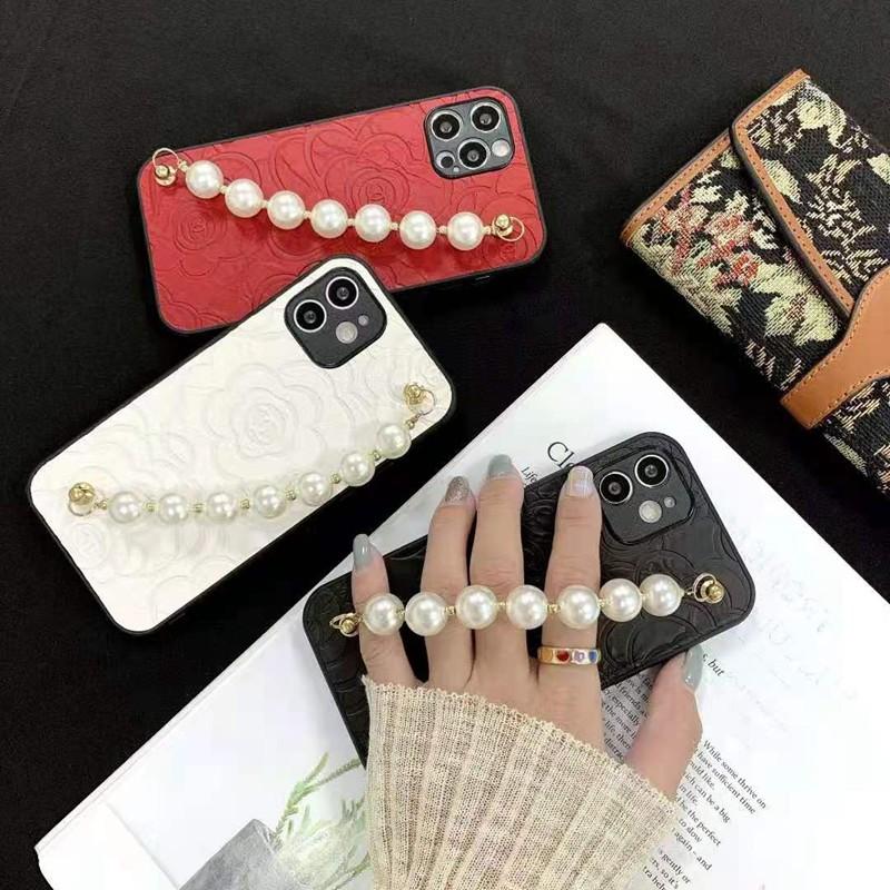 CHANEL iphoneSE2カバー セレブ愛用ケース ジャケット型