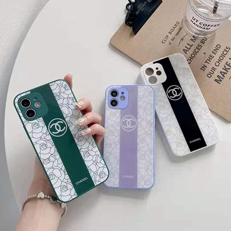 シャネル ブランド  アイフォン13 12 se2スマホカバー ジャケット型 激安 花柄タイプ