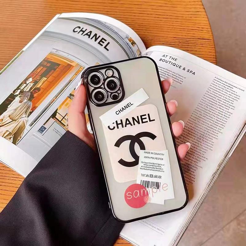 シャネル ブランドi phone13/12S/12ケースジャケット型