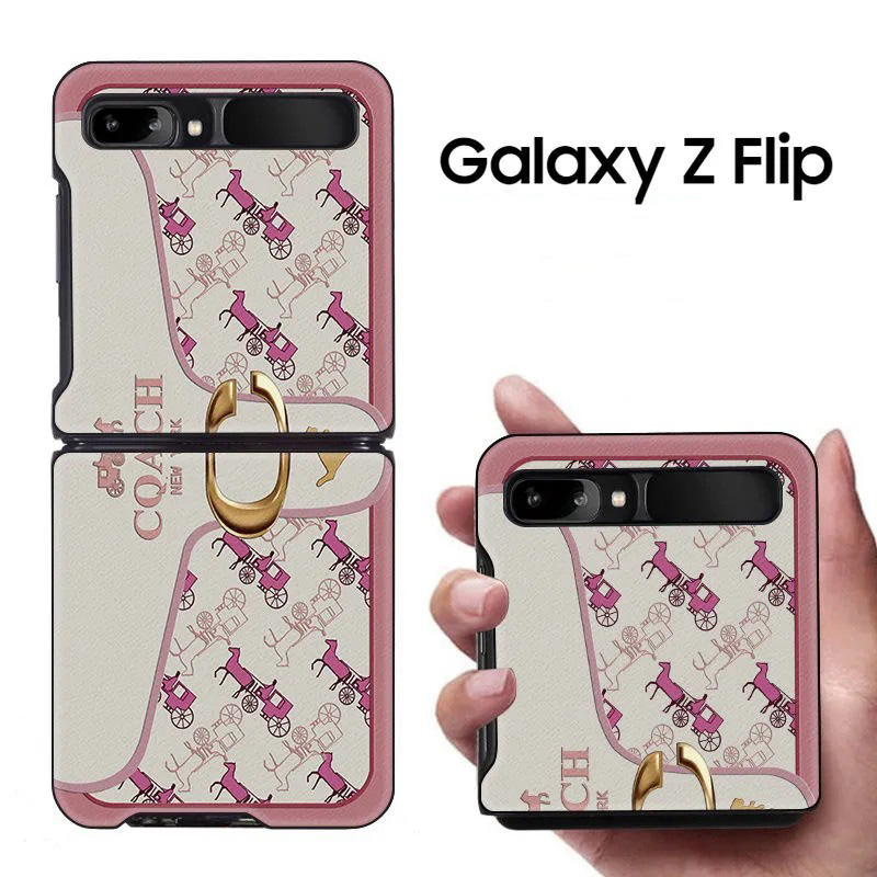 SamsungゼットフリップケースSM-F7000 ファッション 韓国風 オーダーメイド